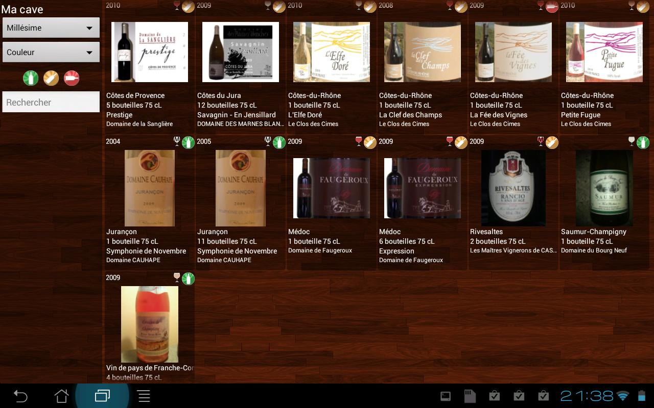 Aprogsys tra abilit gestion de stock - Gestion cave a vin android ...